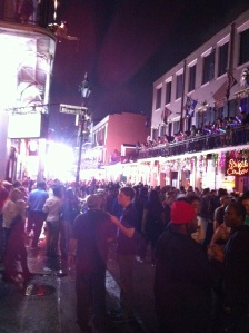 The obligatory Bourbon St. photo.
