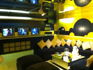 Elvis's TV room. I can't even ... I just can't