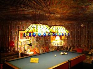 Elvis's pool table