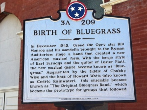 Seriously, where bluegrass music was born.