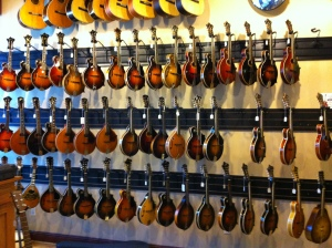 Snapped this one for my uncle, who's obsessed with mandolins