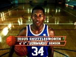 I've seen Jesus--he plays basketball in Brooklyn