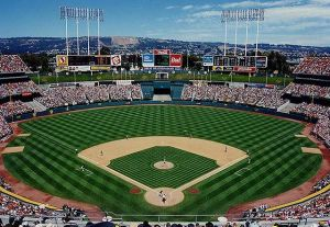 What the Oakland Coliseum used to be