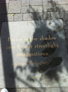 Poetry in the ground!