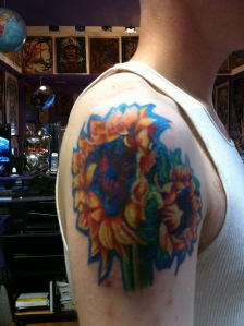Session 4: The flowers are totally filled in at this point