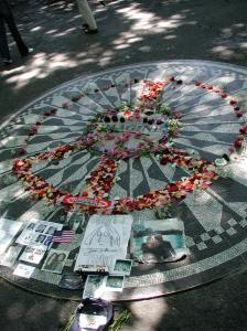 Let me take you down/Cause I'm going to/Strawberry Fields