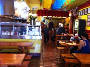 Shangri-La's dining hall