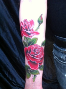 The boy with the rose tattoo (I'll update once my sister gets hers)