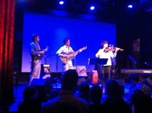 Courtin, Scott, and Thile. (Sorry the image quality isn't great; the light wasn't so good for taking photos on an iPhone)