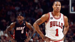 Derrick Rose, not LeBron James, will be the last man standing this year. I really hope I'm not jinxing this. Don't get hurt, D-Rose.