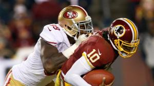 Aldon Smith was back in form last night