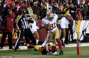 Boldin's first quarter TD got the Niners offense off the schneid