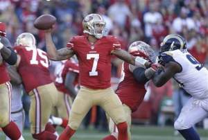 Kaepernick kept his cool on Sunday
