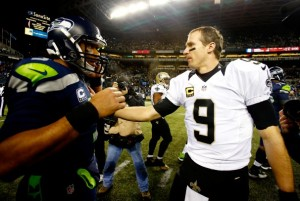 Can Brees get revenge against Wilson this week?