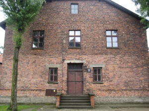 A building in which Nazi doctors performed sterilization experiments on women