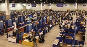 The AWP Book Fair. Like I said, a little overwhelming