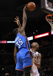 Durant will rise over Duncan again