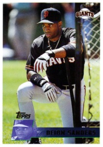 Neon Deion put up a .285/.346/.444 line for the Giants in 2007