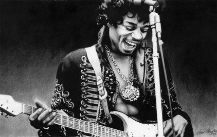 Image result for jimi hendrix popular photo